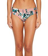 Splendid - Watercolor Floral Reversible Keyhole Bikini Bottom