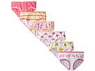 6-Pack Smileys Hearts Cotton Tagless Hipsters Underwear (Toddler/Little Kids/Big Kids)