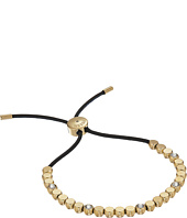 Fossil - Vintage Iconic Gold Bead and Crystal Accent Adjustable Bracelet
