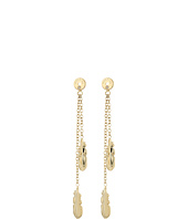 Fossil - Linear Feather Earring Jackets