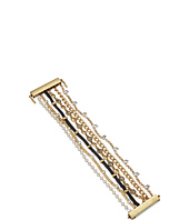 Lucky Brand - Pave and Chain Lucky Layer Bracelet