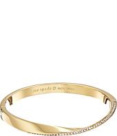 Kate Spade New York - Do The Twist Paved Hinged Bangle Bracelet