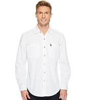 U.S. POLO ASSN. - Long Sleeve Dobby Sport Shirt