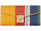Patricia Canvas Two Fold Large Wallet