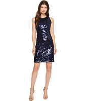 Taylor - All Over Sequins Sheath Dress