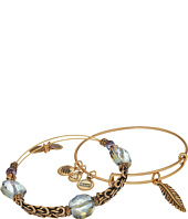 Alex and Ani - Feather Bracelet Set of 2
