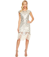 Unique Vintage - Lucie Fringe Flapper Dress