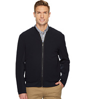 Perry Ellis - Solid Ribbed Bomber Jacket