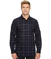 Perry Ellis - Long Sleeve Exploded Plaid Dobby Shirt