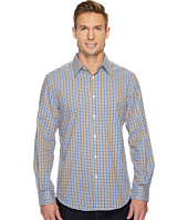 Perry Ellis - Long Sleeve Multicolor Check Dobby Shirt