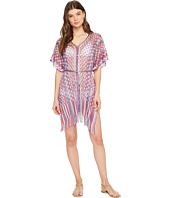 Luli Fama - Rumba Fringed Poncho Dress
