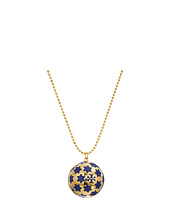 Tory Burch - Celestial Logo Locket Necklace