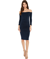 Nicole Miller - Cupro Off Shoulder Party Dress