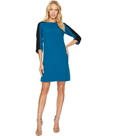 Adrianna Papell - Stretch Crepe Shift Dress