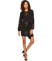 ASTR the Label - Tie Skirt Long Sleeve Dress