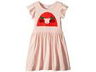 Ayal Dress w/ Cherry Rykiel Girl Design on Front (Toddler/Little Kids/Big Kids)