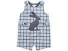 Gingham Easter Bunny Shortall (Infant)
