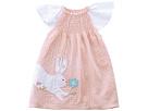 Easter Bunny Smocked Dress (Toddler)