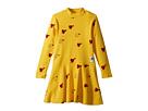 Heart Rib Dance Dress (Infant/Toddler/Little Kids/Big Kids)