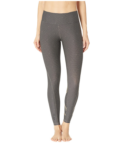 Print Mid-Rise Compression Tights