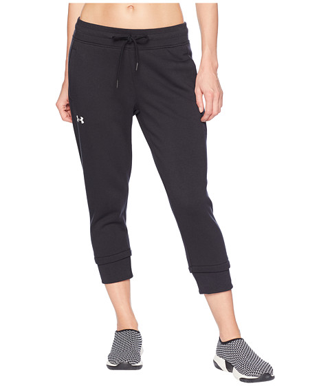 Cotton Fleece Slim Leg Crop