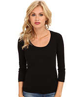 Three Dots - 3/4 Sleeve Scoop Neck